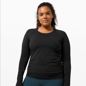 Lululemon Swiftly Tech Long Sleeves Black